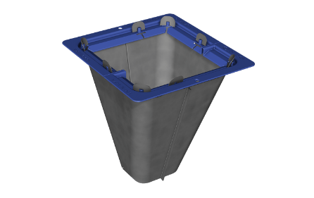 Square Plastic Catch Basin Kits