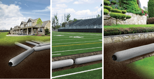 EZ-Drain French Drain Applications