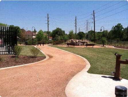 Park Walkway & Vehiss Road