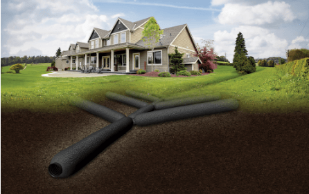 Improved Flow Rate with EZ-Flow French Drain