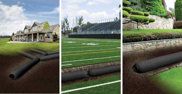 EZ-Flow French Drain Applications