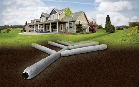 Improved Flow Rate with EZ-Drain French Drain