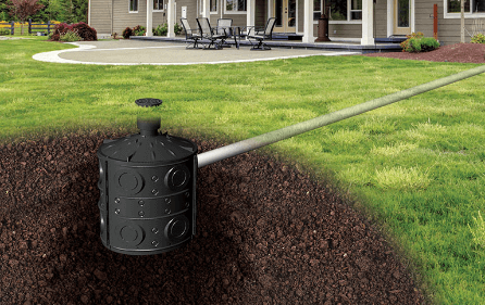 Dry Well Gravel-Free Solution