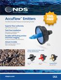 AccuFlow Pressure Compensating Emitters
